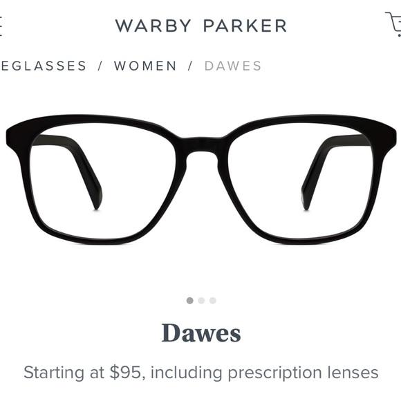 55579d93191e6 NWT Warby Parker Dawes Non Prescription Glasses